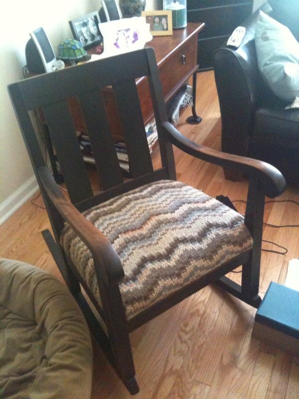 zig zag rocking chair plans